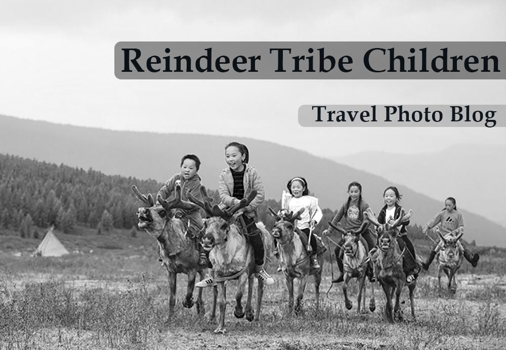 Reindeer Tribe Children