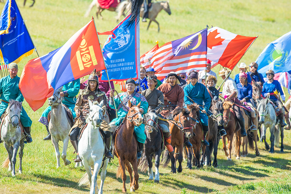 Horse Archery Competition Mongolia7