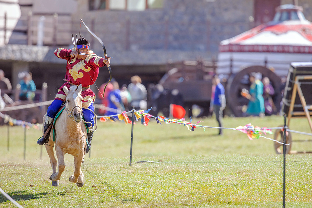 Horse Archery Competition Mongolia6