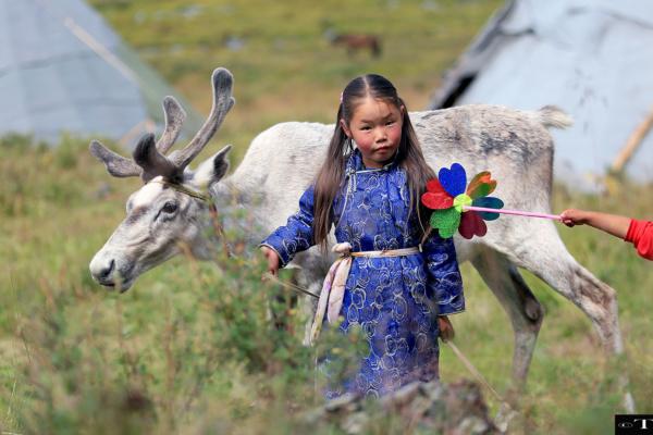 Reindeer children111 for head