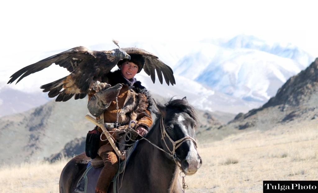 Golden Eagle Huntress