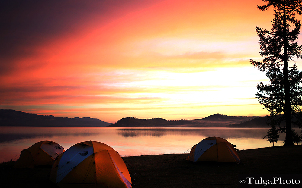 Tented camping in wilderness Mongolia4