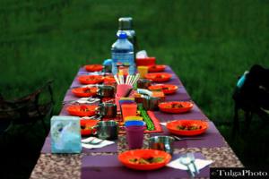 food table