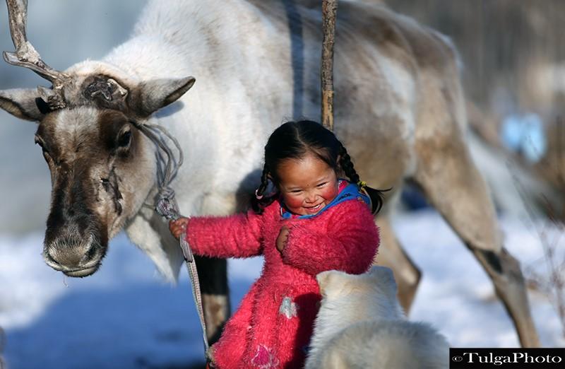 Reindeer Girl Winter Camp