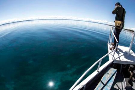 Boat ride Khuvsgul lake