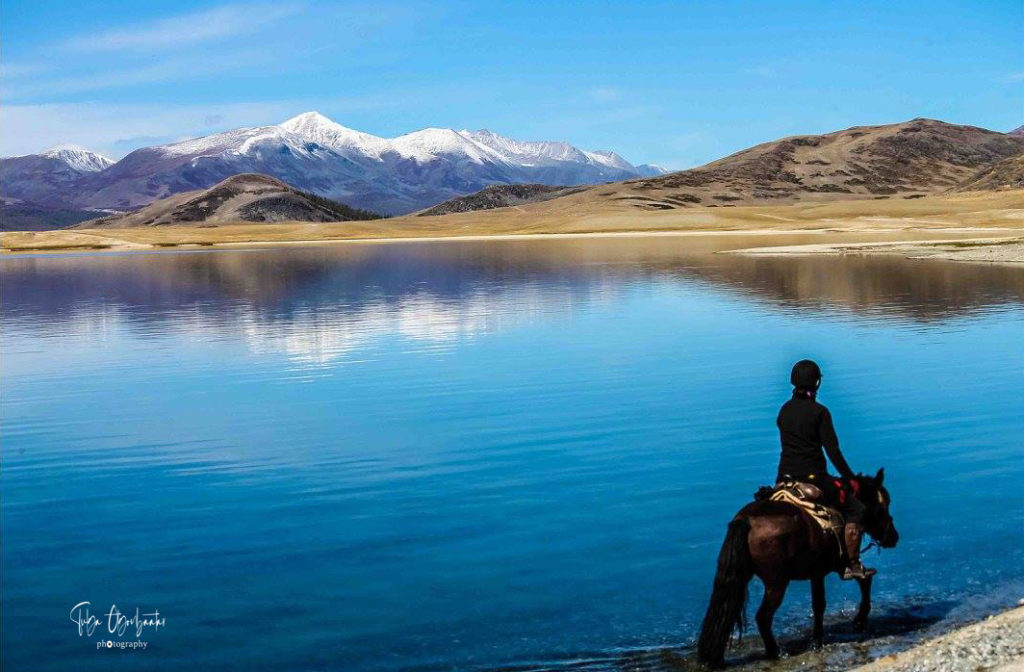 Altay horse ride