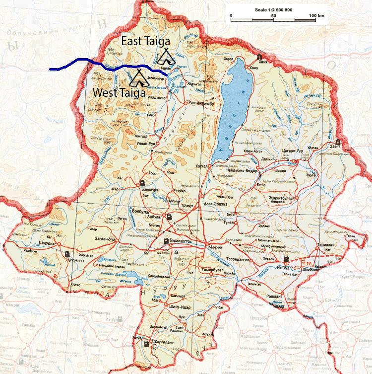 Reindeer Herders Map