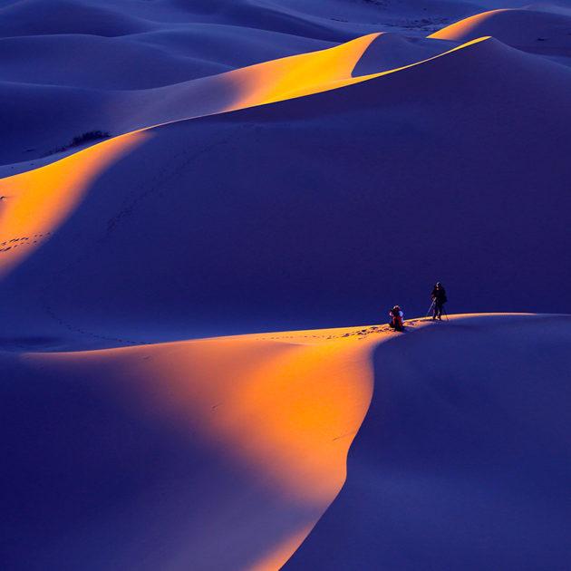 Gobi Tour colorful Sand dunes of Mongolia
