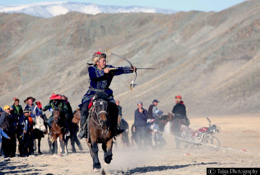 Horse Archery in Altai