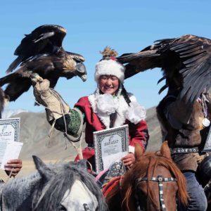 Local Golden Eagle Festival-award giving ceremony
