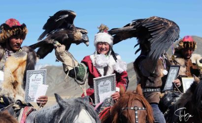 Local Golden Eagle Festival-award giving ceremony