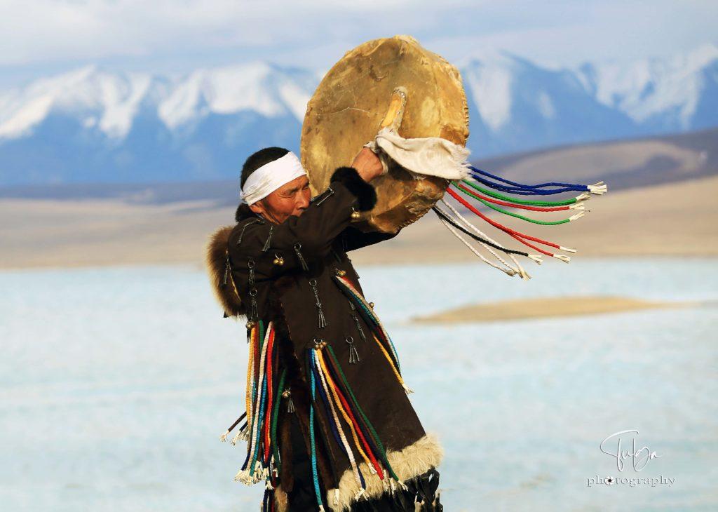 shaman chanting
