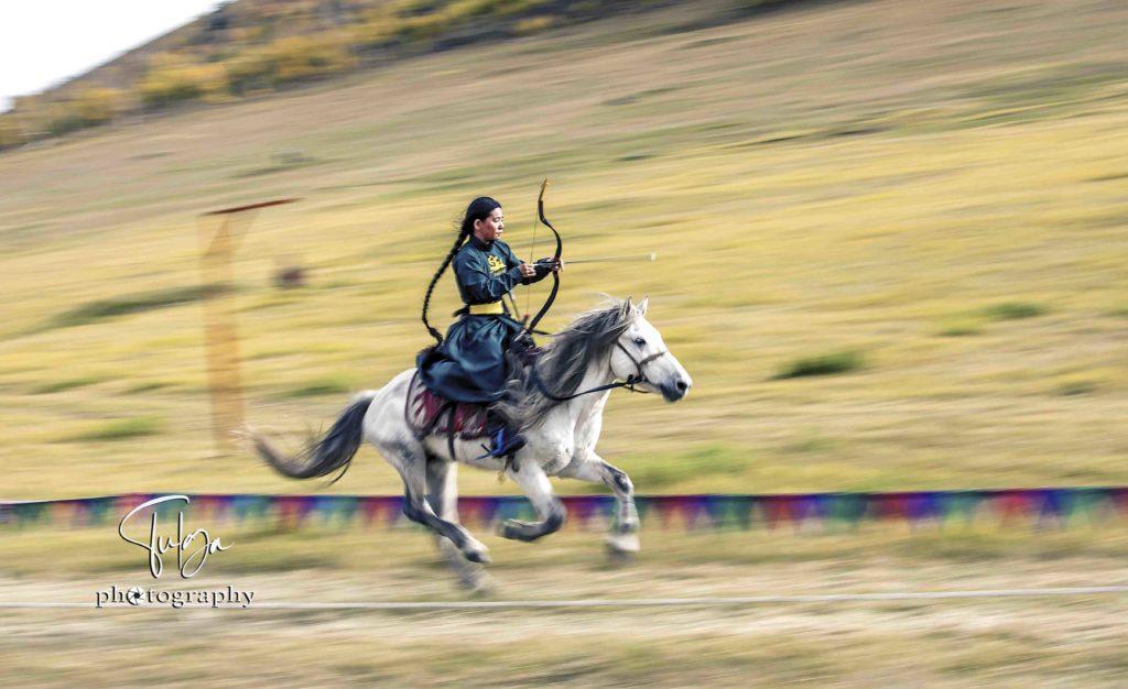 Female Horse archer