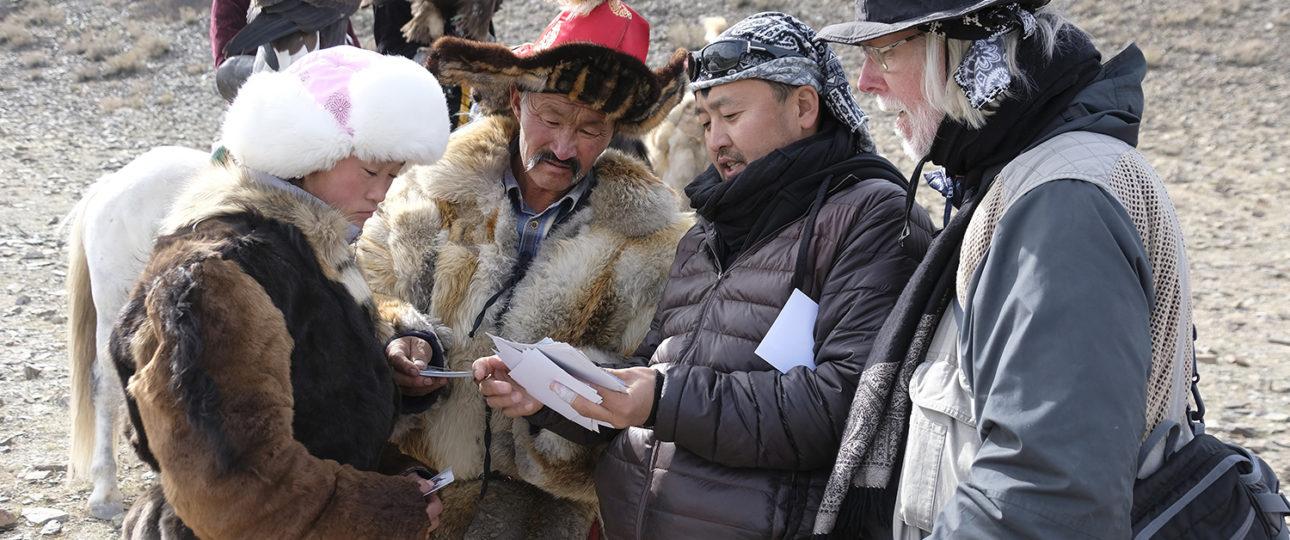 Eagle Masters with Nomadic Trails Tour Leader Tulga and Photographer Melbourne