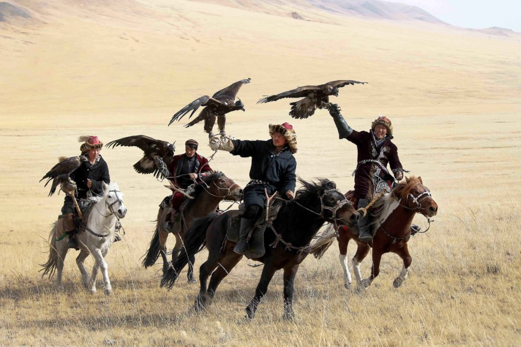 Group Riders of Golden Eagle