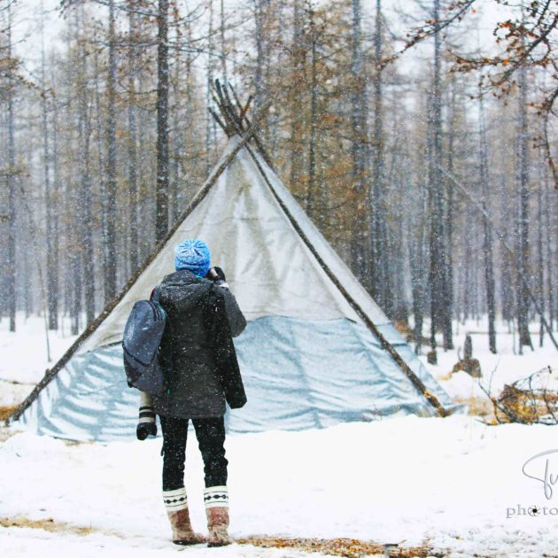 Winter photography Tour in Mongolia- Reindeer Herders