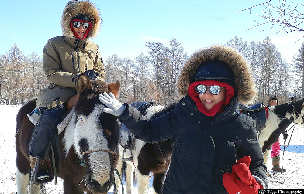 Winter tour guide