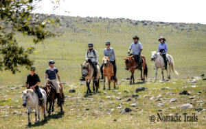 Horse riding tour in Northern Mongolia