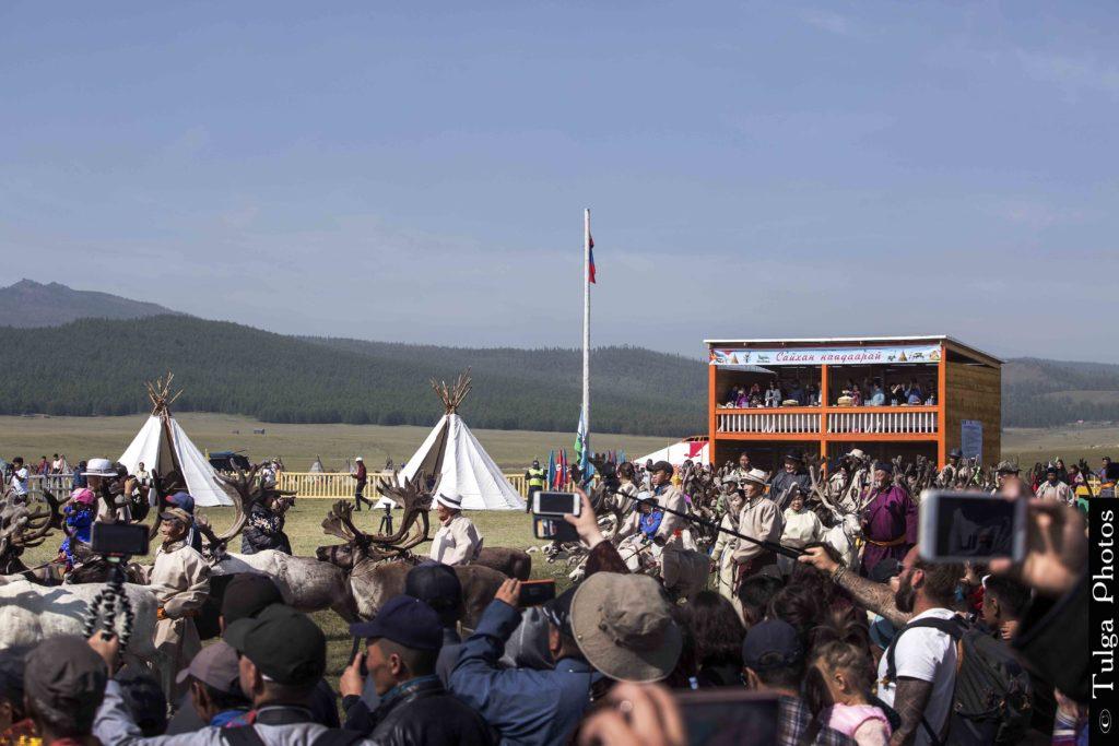 Opening of Reindeer festival