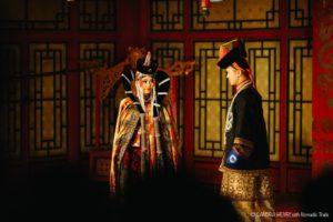 Folk concert, traditional long song