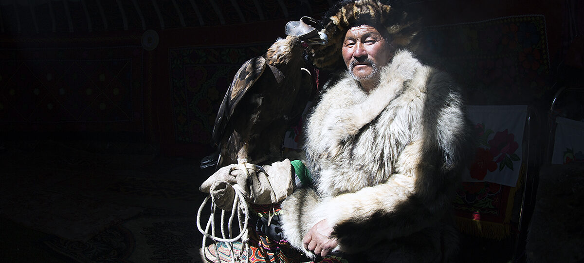 Art of Hunting with Golden Eagle