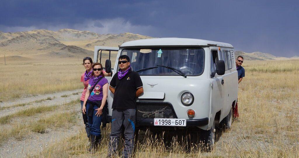 TripAdvisor Traveler Photo by Rebecca Travelling outside of Ulgii by Van