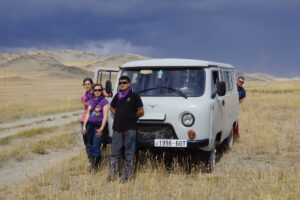 TripAdvisor Traveler Photo by Rebecca Travelling outside of Ulgii by Van