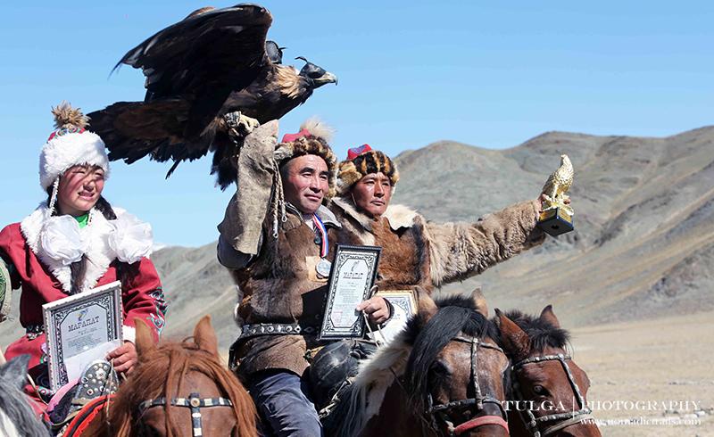 Altai Golden Eagle festival winners