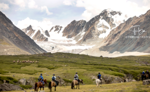 Altai Tavan Bogd National Park horse riding custom tour