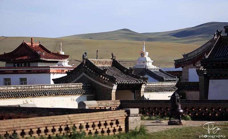 Erdene zuu monastery from the inside
