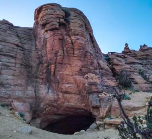 hidden cave of the lamas