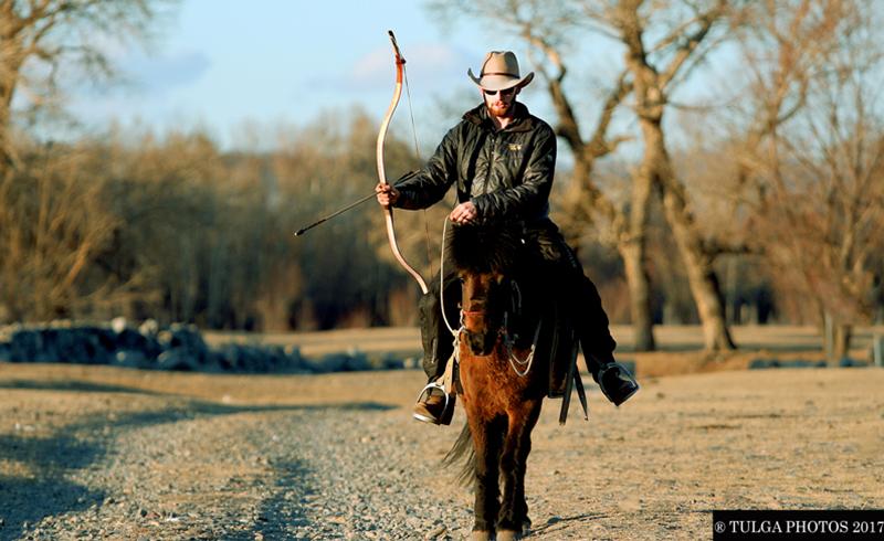 horseback archery tour archer