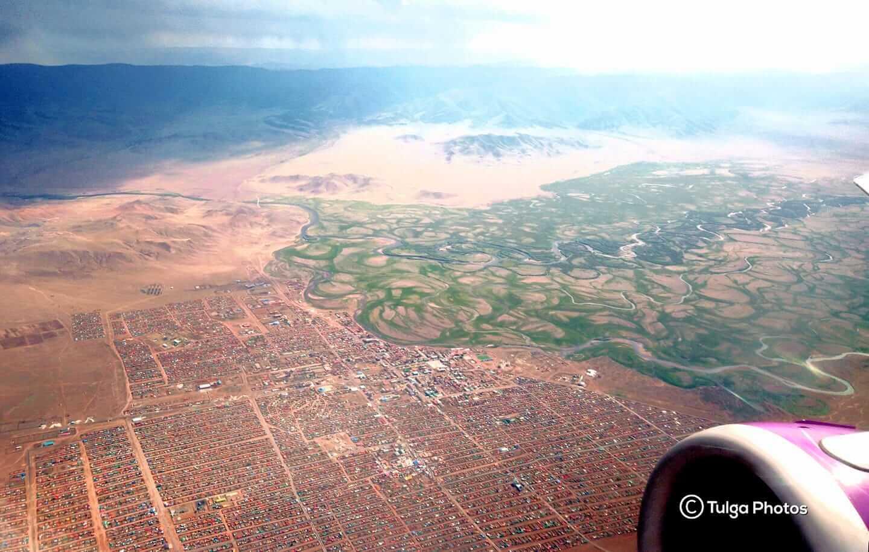 Murun town of Northern Mongolia