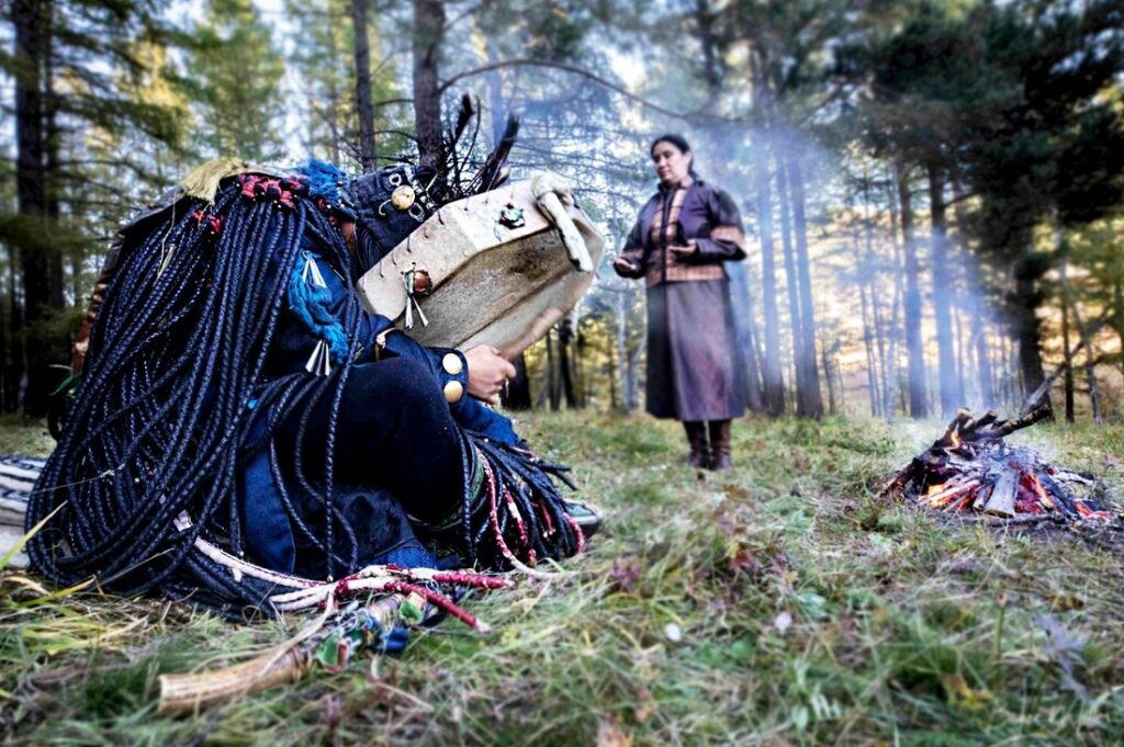 Daidy shaman photography by Bruce Miller