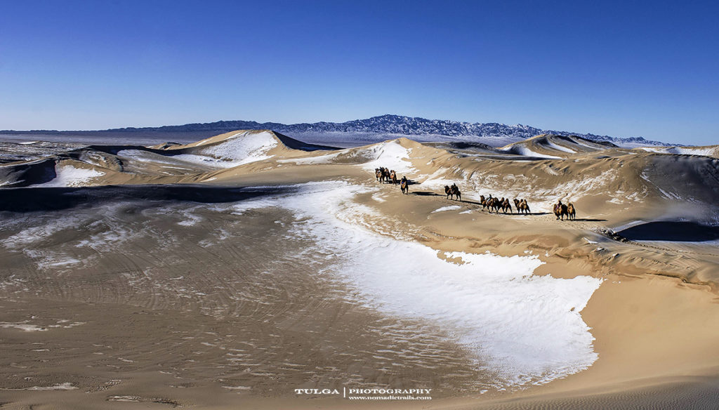 Gobi in winter 1   All about the Mongolian Gobi - Nomadic Trails