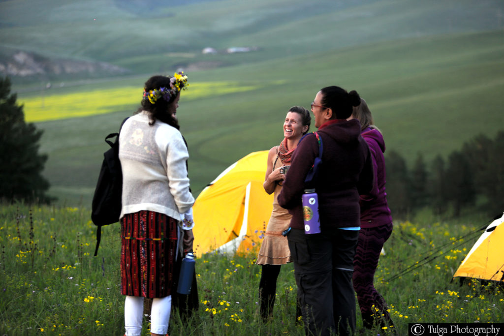 Group of travelers during Spiritual Shaman Tour | My kind of Unforgettable Mongolia - Nomadic Trails