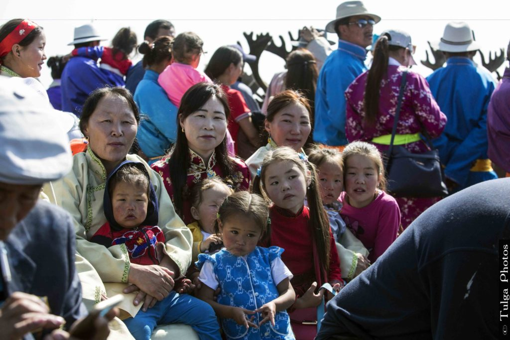 Local family ready to enjoy the event | Reindeer Festival Mongolia 2019 - Nomadic Trails