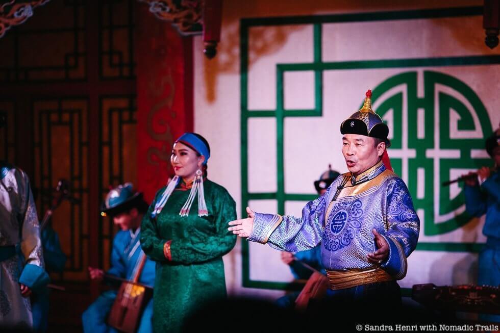 Traditional Mongolian Folk concert - Sandra Henri
