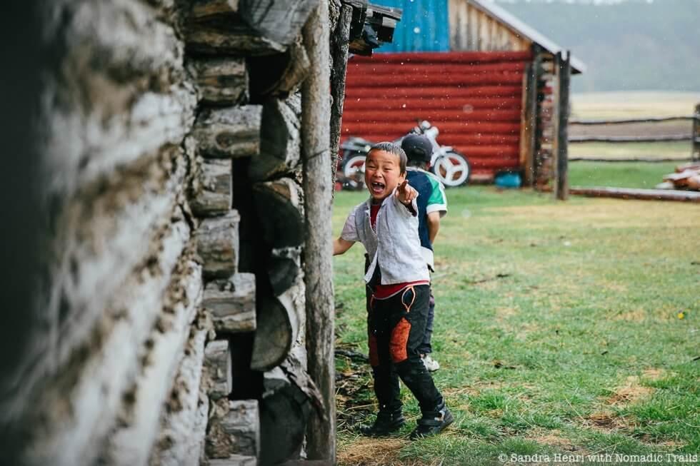 Sandra Henri with Nomadic Trails Khogorog river home stay
