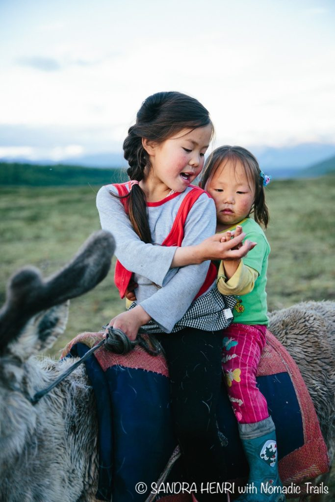 Young reindeer children Taiga Dukha Mongolia | Mongolia in my Camera - An inspiring travel blog about Dukha people in Mongolia - Nomadic Trails