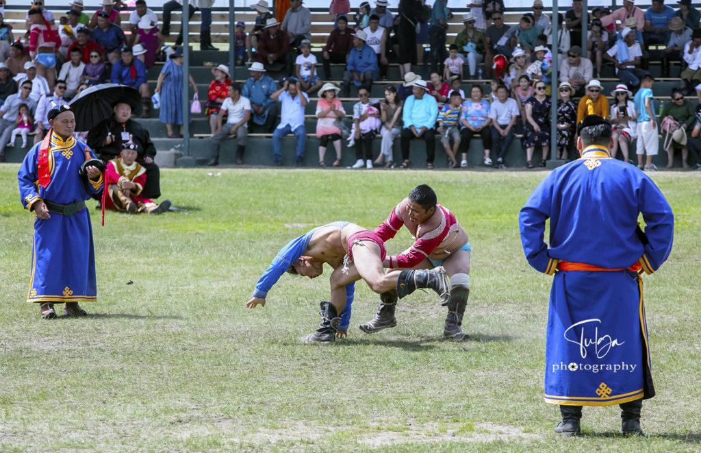 wrestling at naadam festival | Naadam Festival Mongolia - Nomadic Trails