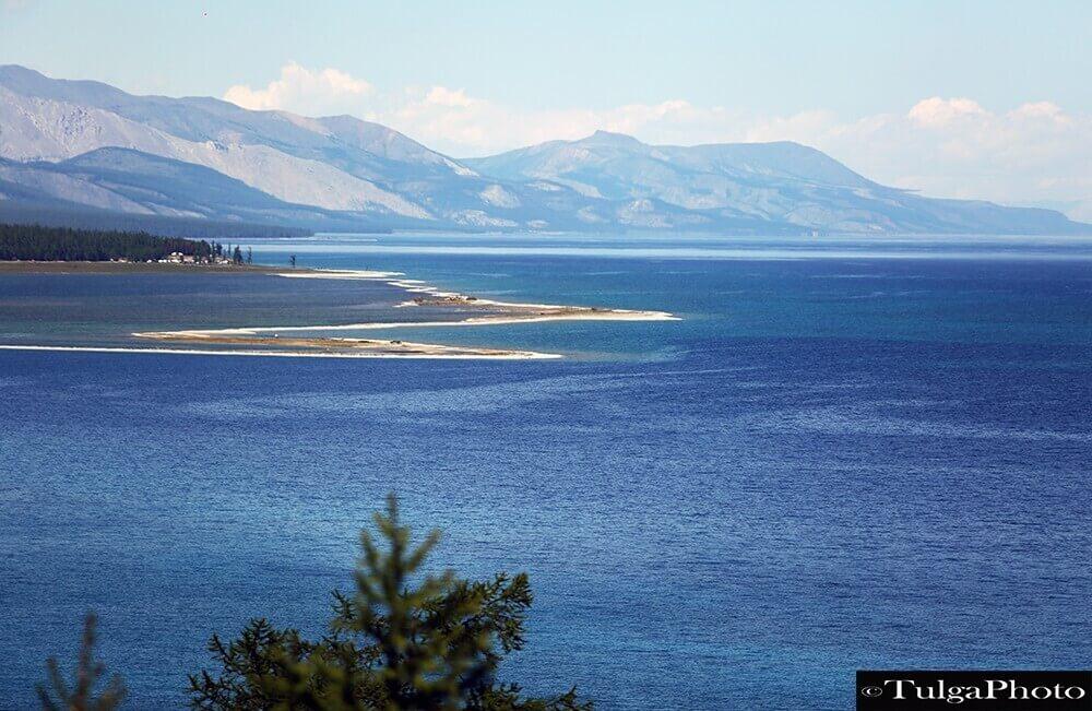 Khuvsgul lake view Northern Mongolia