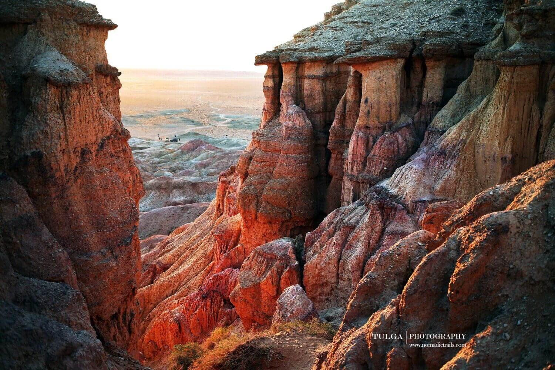Tsagaan Suvarga canyon Mongolia